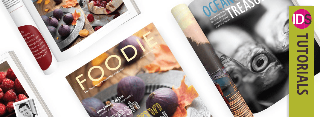 Create a Magazine in InDesign - Design Tutorial