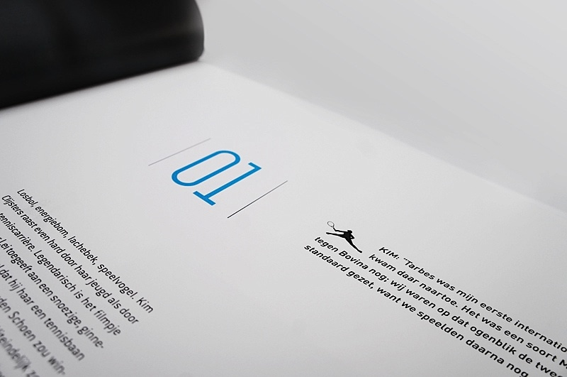 Inspiring Book Design - Tennis Book 1