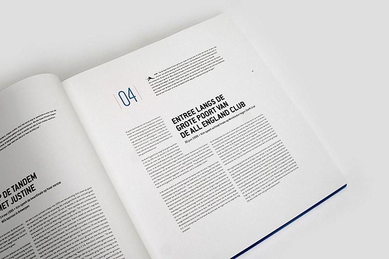 Inspiring Book Design - Tennis Book 3