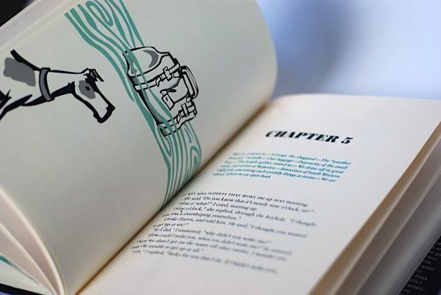 Inspiring Book Design - Three Men and a Boat 1