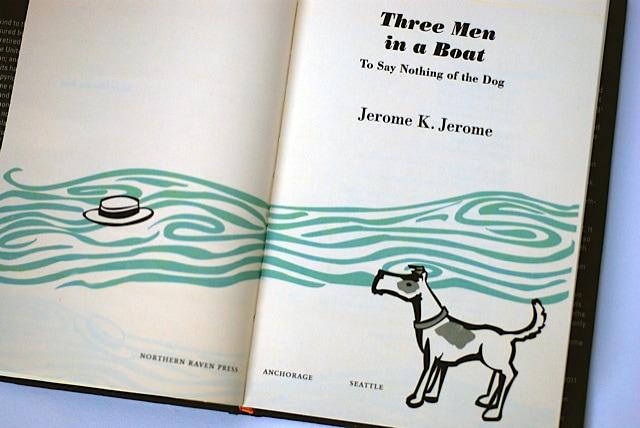 Inspiring Book Design - Three Men and a Boat 2