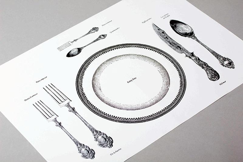 cafe kafka menu design indesign