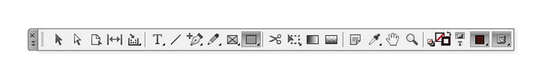 rectangle tool indesign