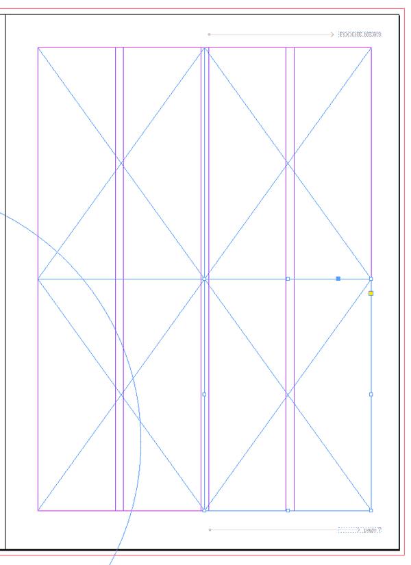 magazine layout design indesign mini bridge