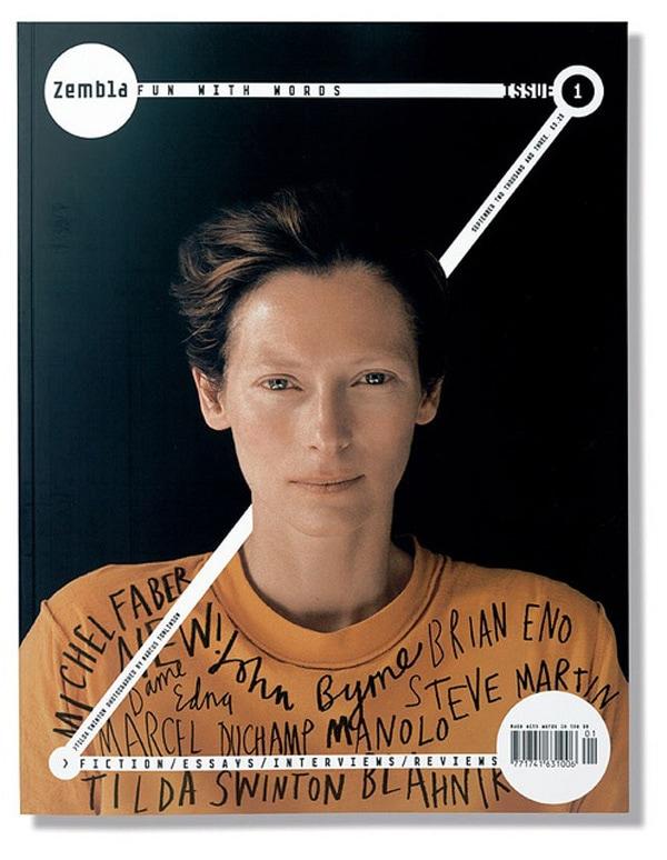 magazine cover design 3D effect zembla magazine