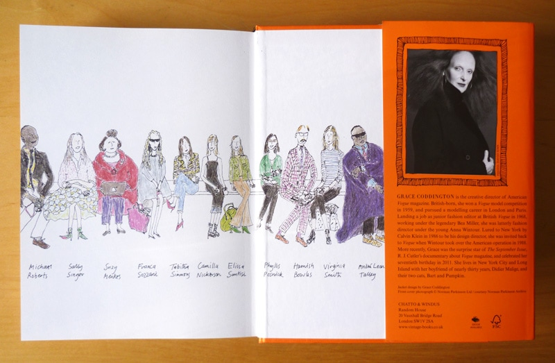 grace a memoir grace coddington cover design
