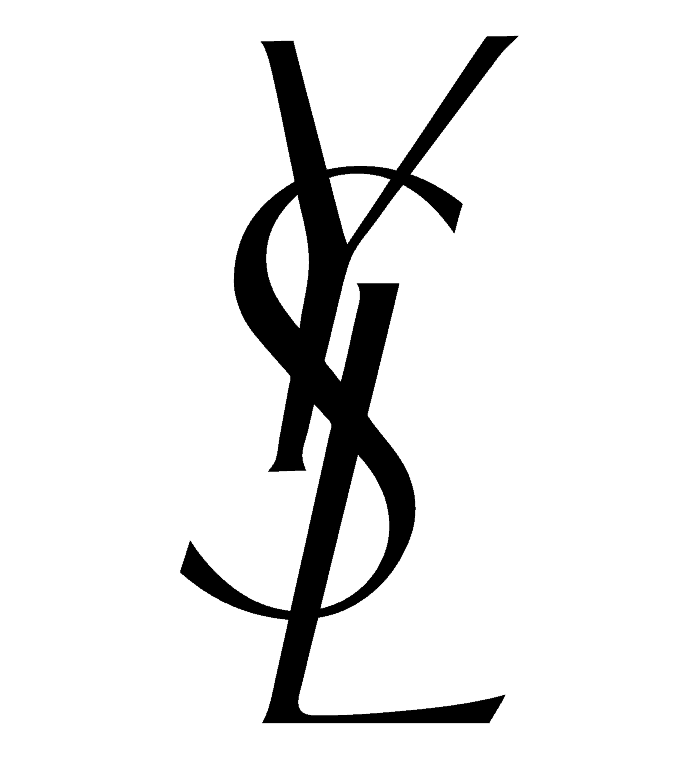 yves saint laurent typographic logo