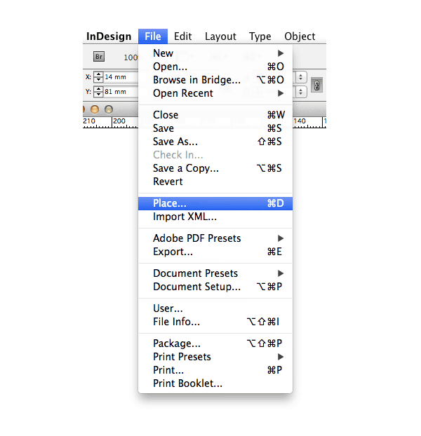 indesign basics tutorial place and link images