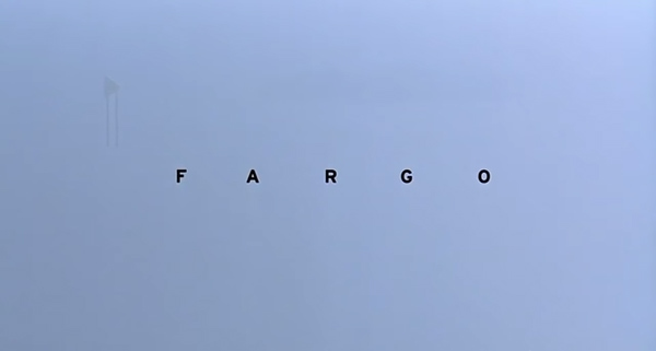 fargo opening credits sequence movie posters typography spacing leading how did they do that indesign skills