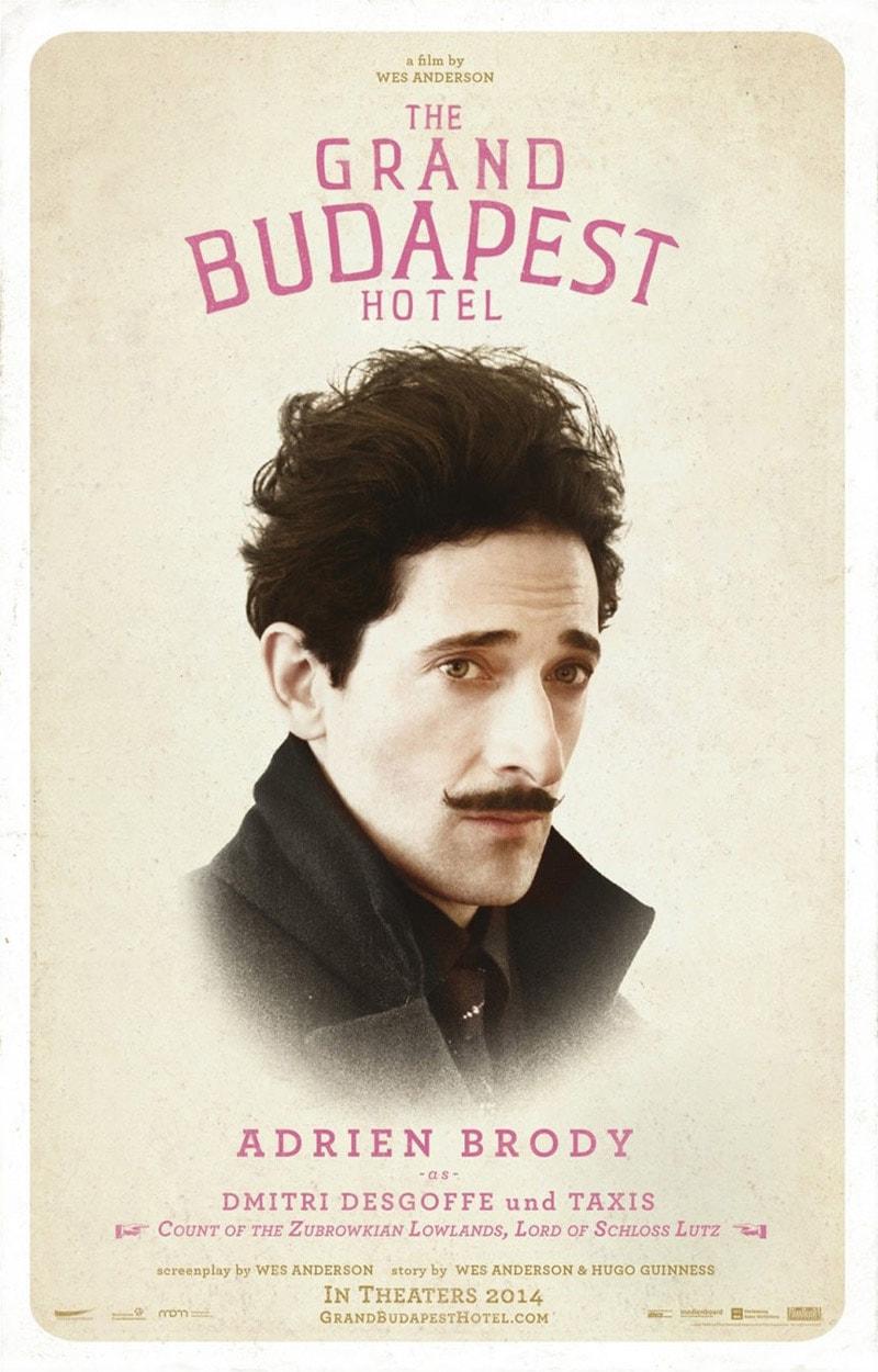 vintage print design grand budapest hotel
