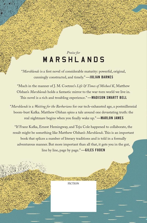 vintage print design book cover marshlands matthew olshan