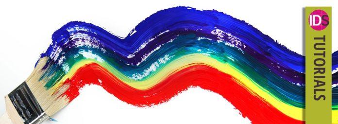 RGB CMYK Spot color colour indesign