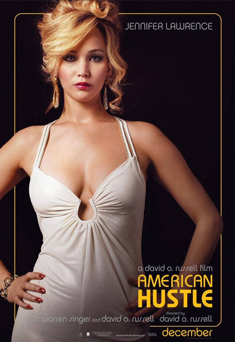 american hustle jennifer lawrence poster design movie indesign