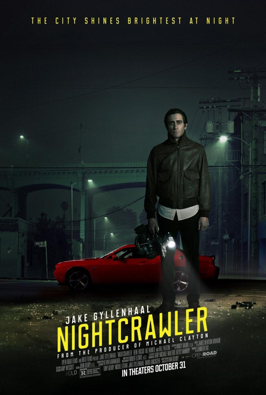 nightcrawler poster design movie indesign