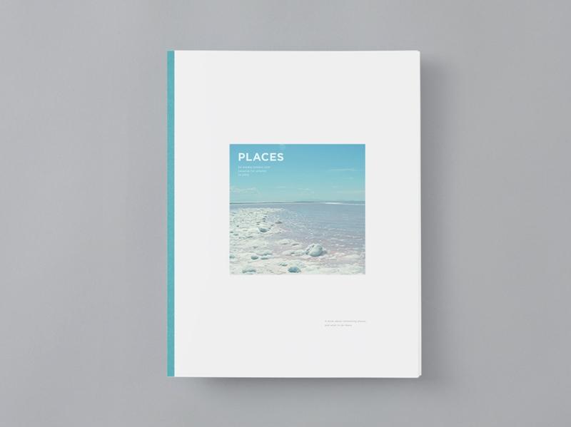 color indesign blue print design travel