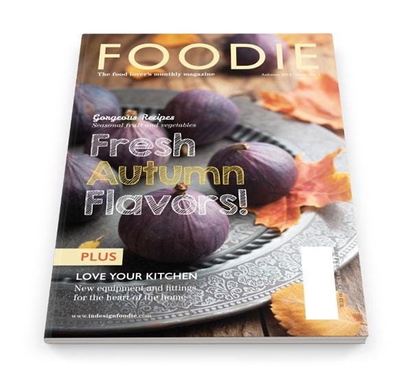 typography indesign magazine cover