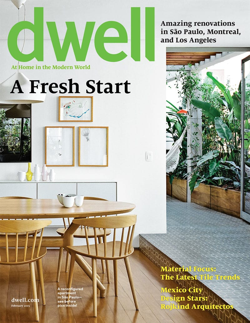 magazine cover fonts lifestyle design interiors technology dwell