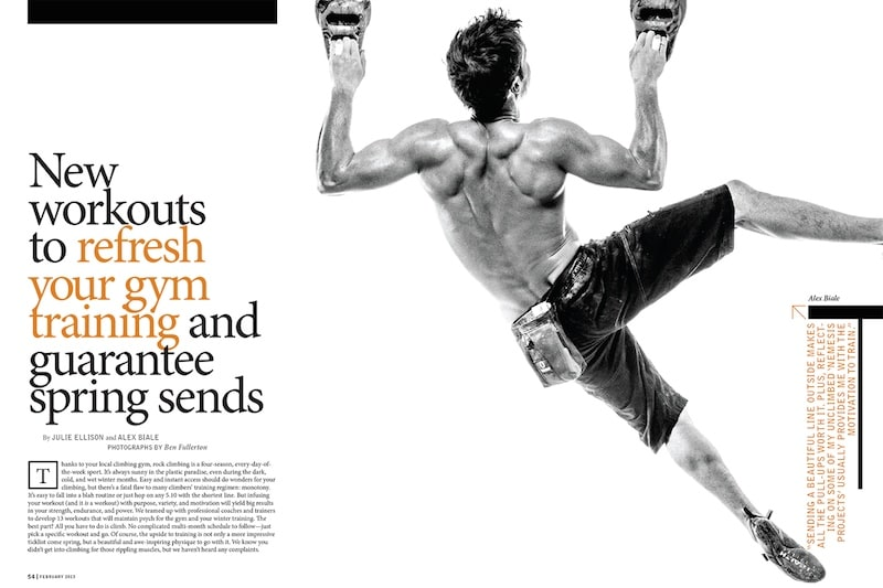 indesign photography layout inspiration photo cool bryan j nanista fitness lifestyle magazine
