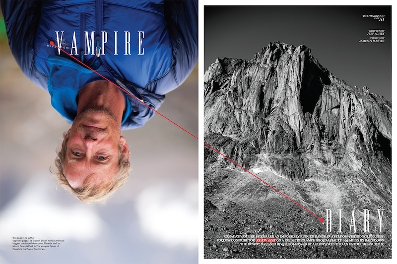indesign photography layout inspiration photo cool bryan j nanista mountaineering lifestyle magazine