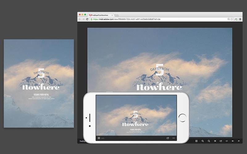 EPUB eBook eMagazine digital publishing design Adobe InDesign