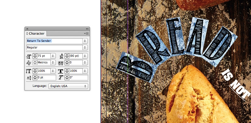 indesign curved text type on a path organic fluid typography type on a path tool
