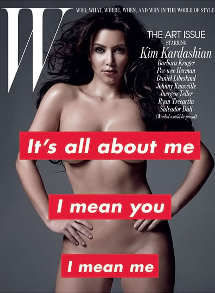 collage print design magazine layout book cover eccentric indesign graphic design inspiration magazine cover w magazine kim kardashian barbara kruger
