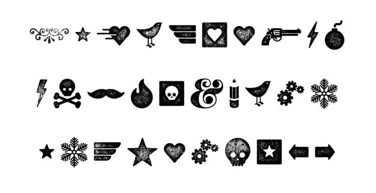 typography secrets fonts with great best glyphs symbols graphics veneer extras