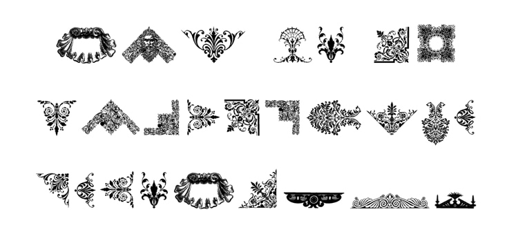 typography secrets fonts with great best glyphs symbols graphics victorian free ornaments