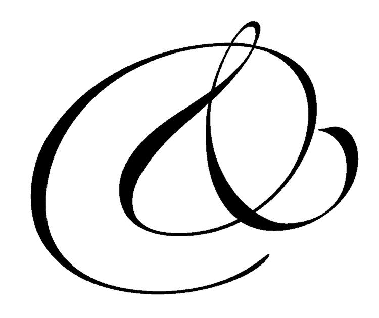typography secrets indesign best great ampersands script calligraphy romantic zapfino