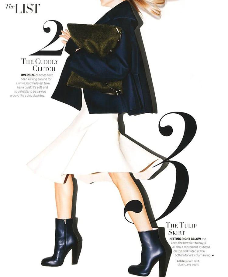 magazine layout design tips indesign improve 3d fashion harper's bazaar uk