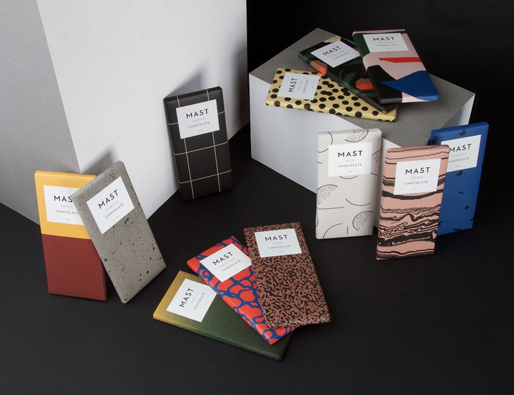 indesign inspiration food packaging design chocolate wrapping mast brothers