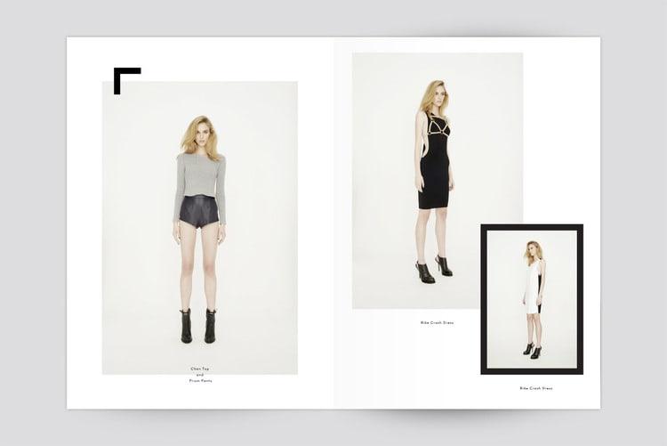catalogue booklet lookbook design layout inspiration marketing catalogue catalog fashion shoes retail friend of mine lookbook