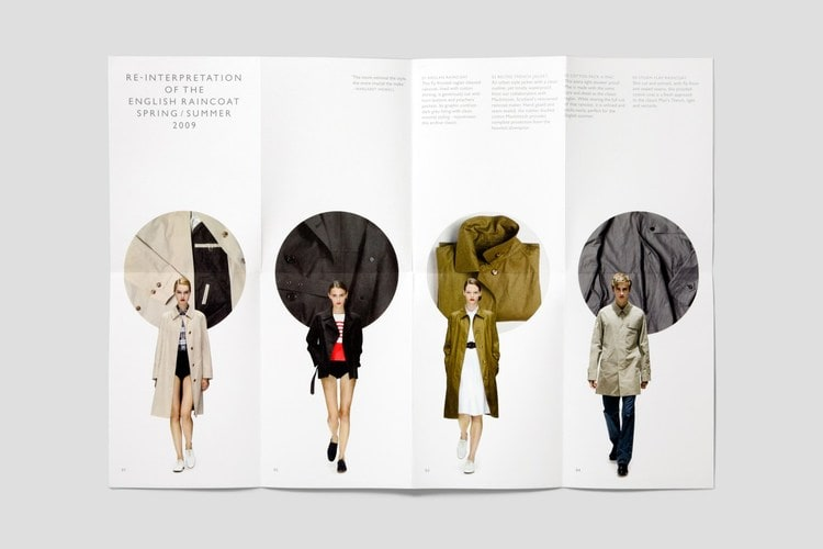 catalogue booklet lookbook design layout inspiration marketing catalogue catalog fashion margaret howell lookbook minimal