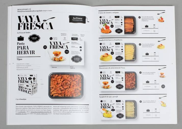 catalogue booklet lookbook design layout inspiration marketing desigual catalogue catalog food catering sandro desii