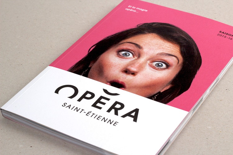 catalogue booklet lookbook design layout inspiration marketing catalogue catalog programme events saint etienne opera house