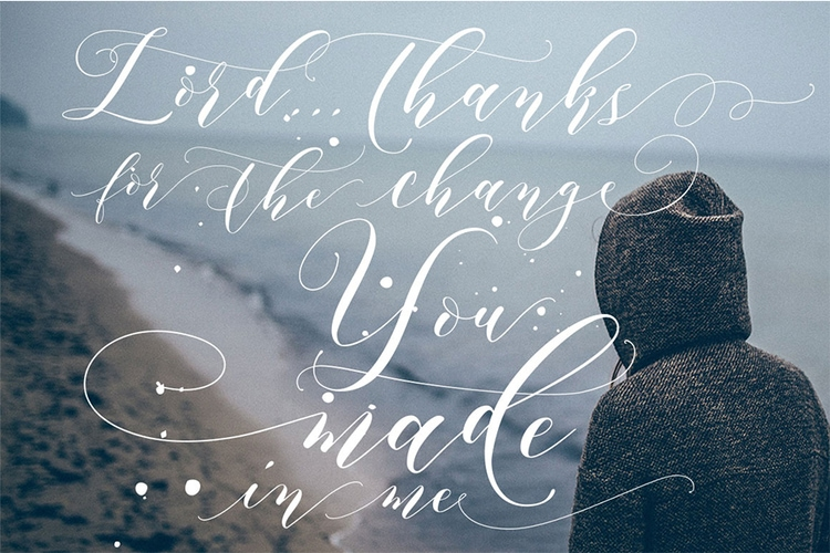 lettering hand-drawn modern calligraphic hand-lettered script fonts best free aidan