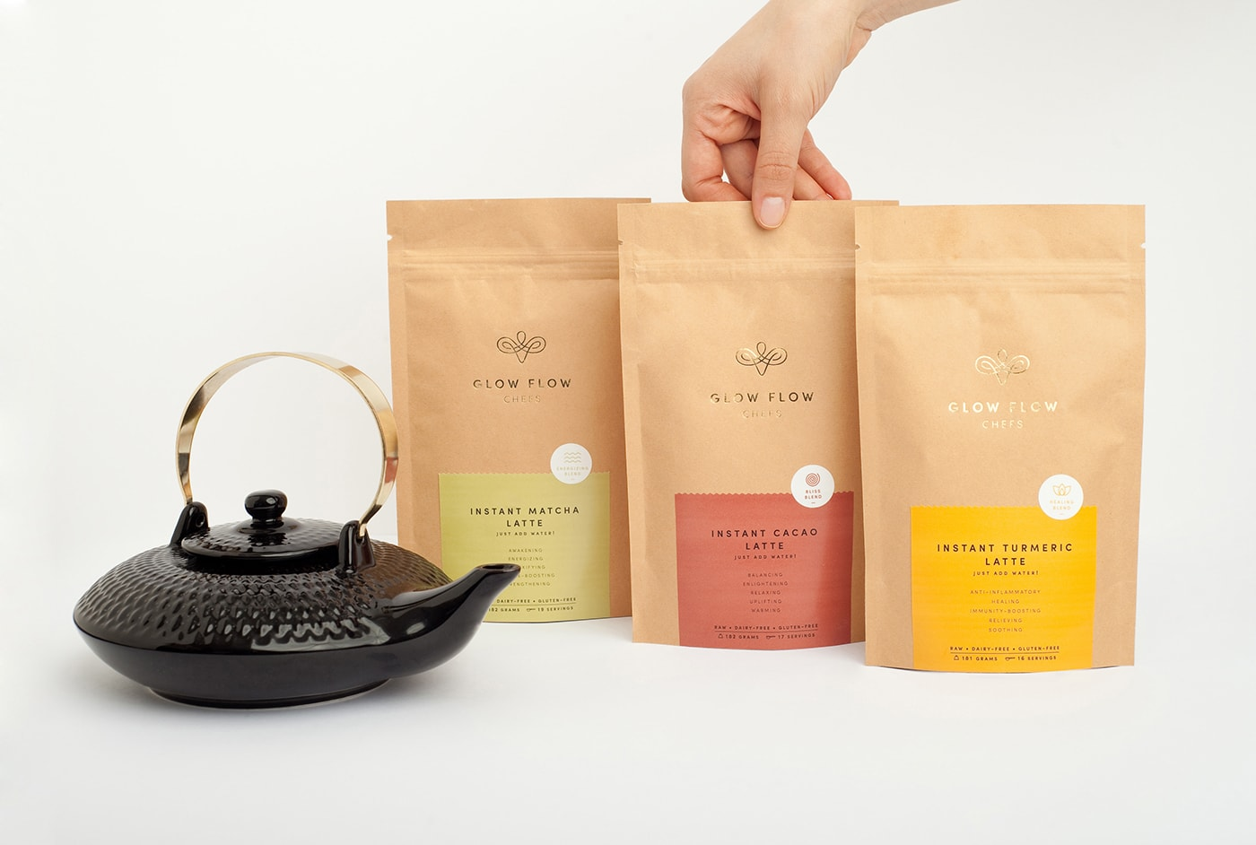 2017 graphic print design trends minimal subtle modern packaging tea packet