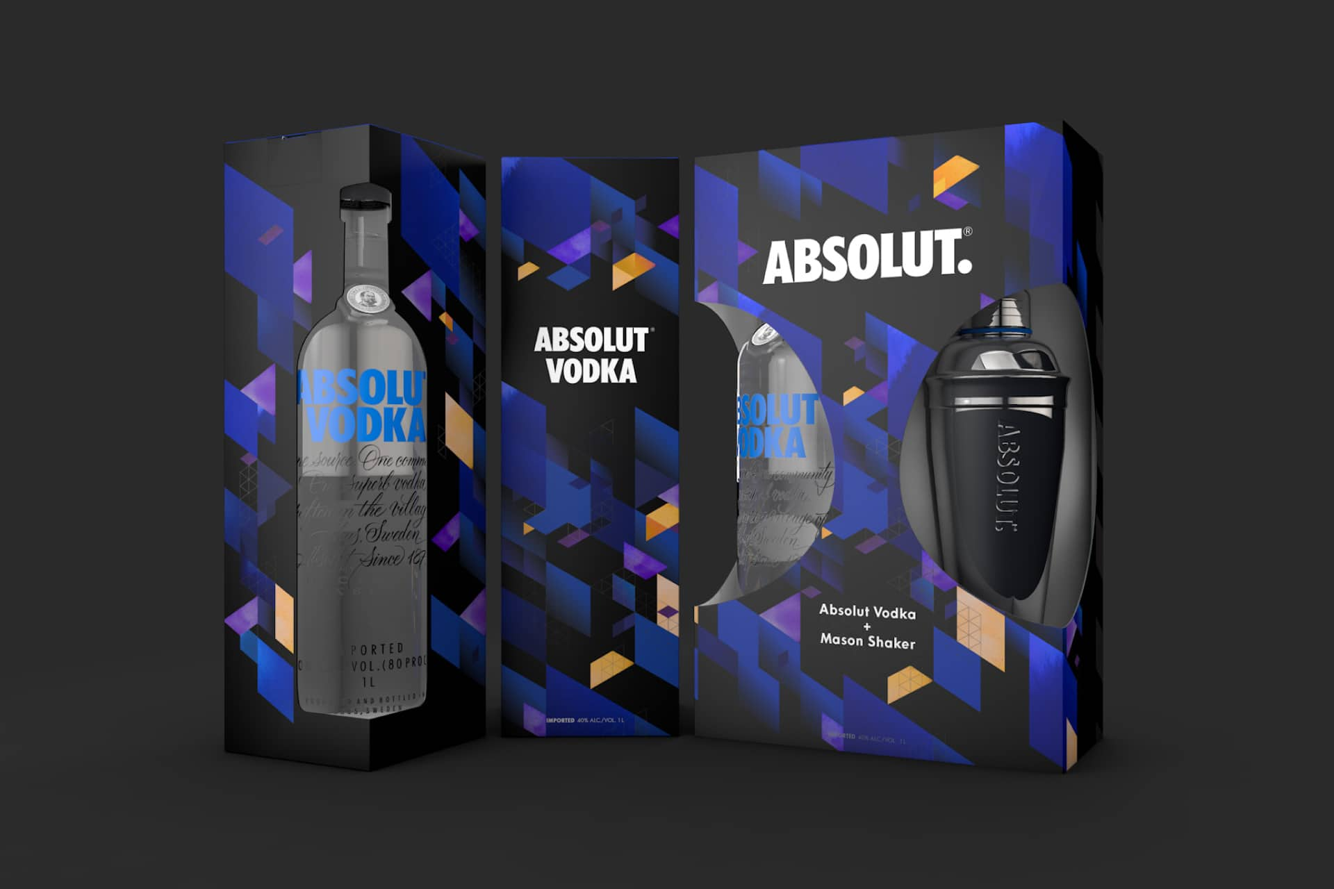 2017 graphic design print design trends eighties design neons absolut vodka packaging design