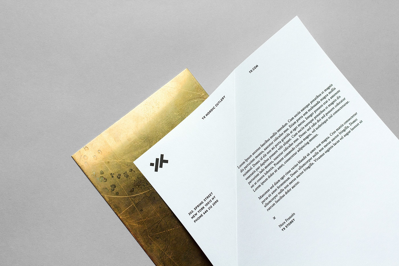 2017 graphic print design trends minimal subtle modern stationery business card letterhead
