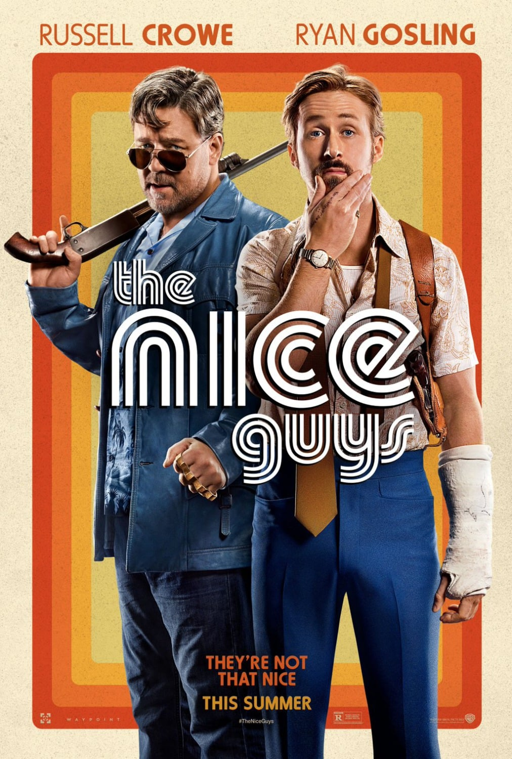 movie poster fonts typography typefaces design nice guys