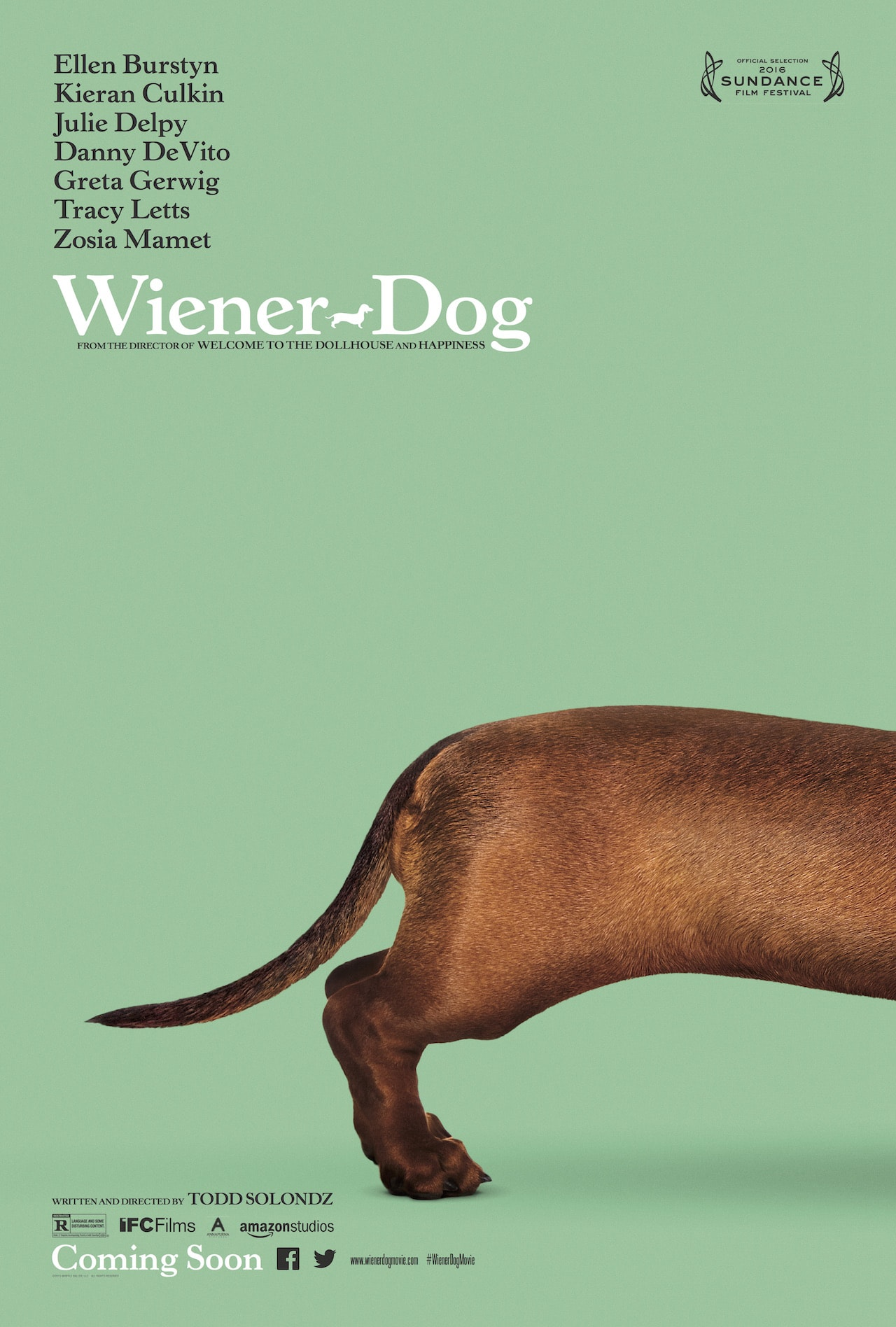 movie poster fonts typography typefaces design wiener dog