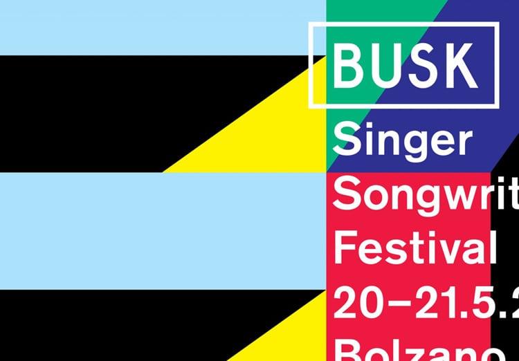 retro branding brand design brand identity mondrian primary colors bauhaus swiss school busk music festival