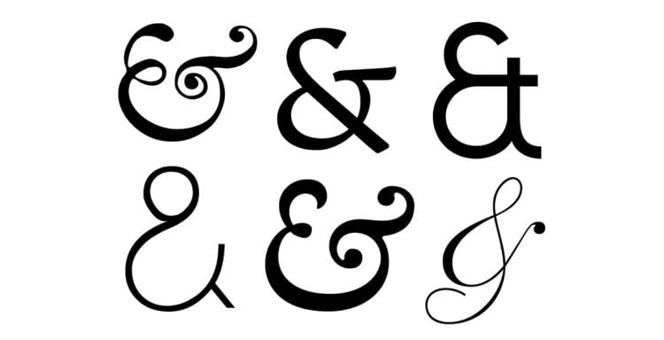 fonts with best ampersands
