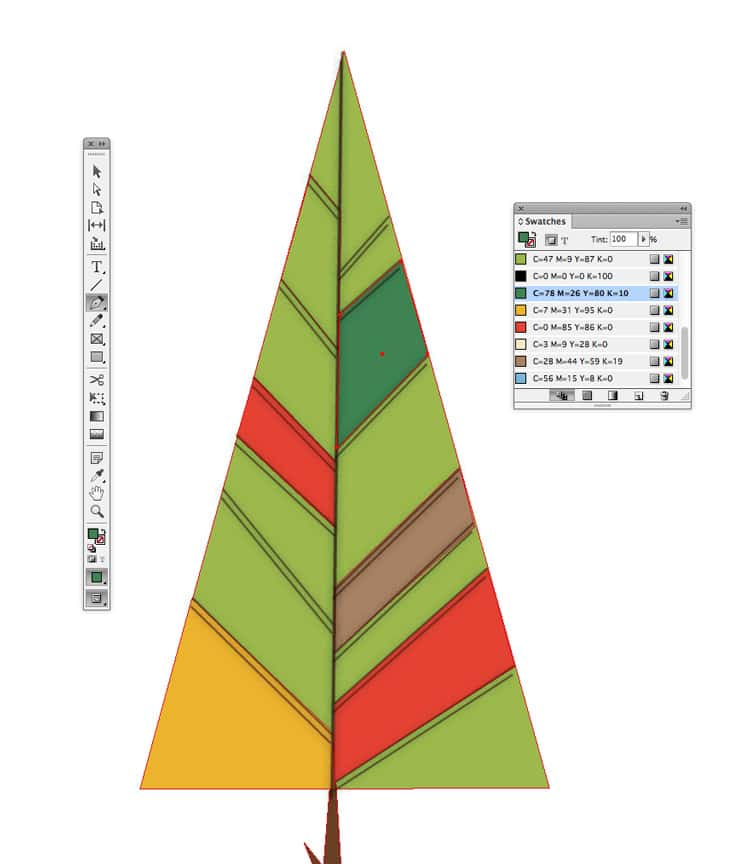 how to draw shapes illustrations in indesign color
