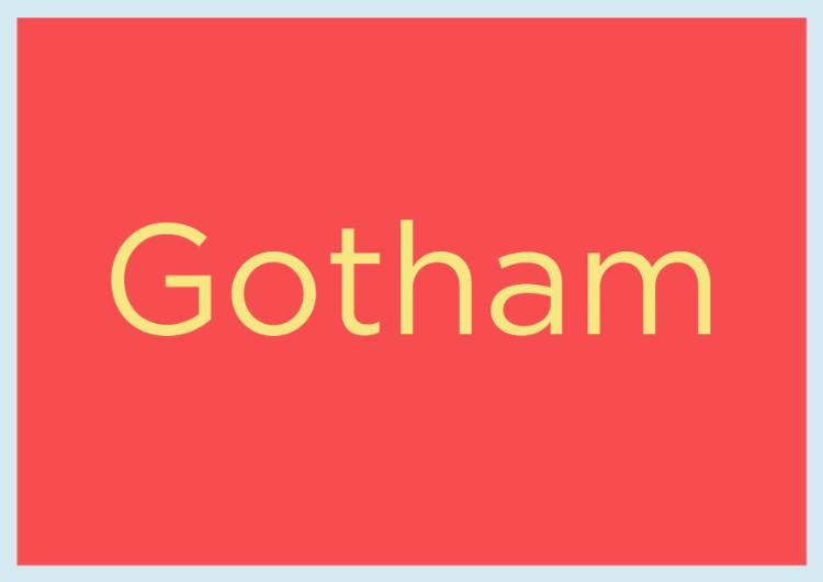 essential fonts designers need capsule beginners sans serifs gotham