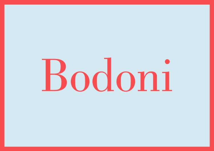 essential fonts designers need capsule beginners sans serifs bodoni