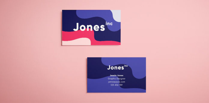 Colorful creative business design for branding agency. Colorul eighties inspired design, perfect for a graphic designer. Free download template.