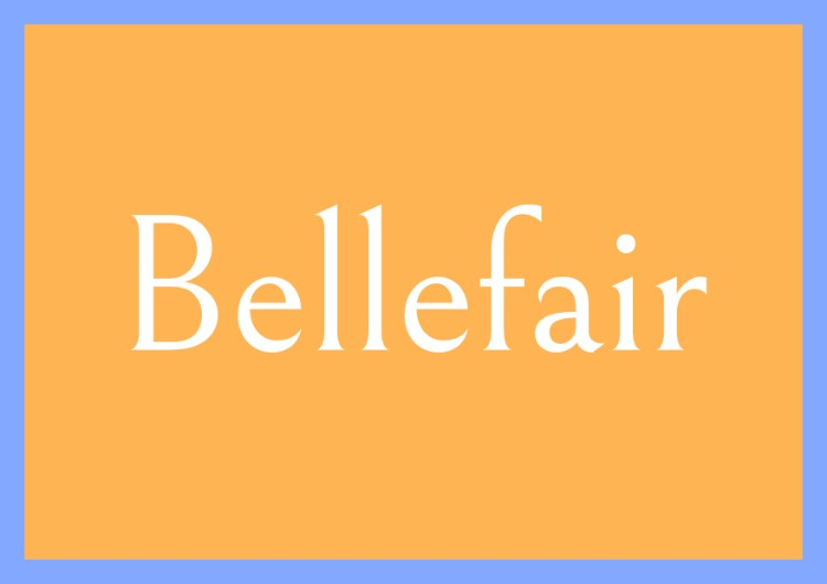 best free fonts font squirrel bellefair