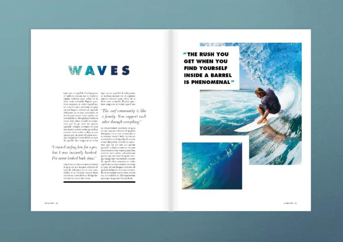 magazine pull quotes indesign