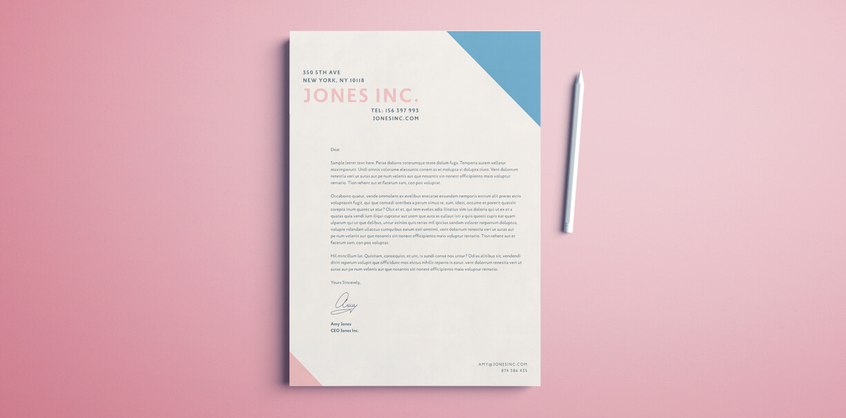 Letterhead Template For Indesign Free Download